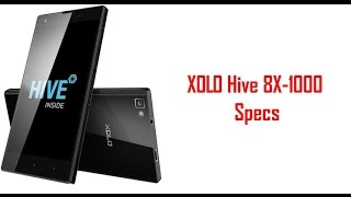 XOLO Hive 8X 1000 Specs & features