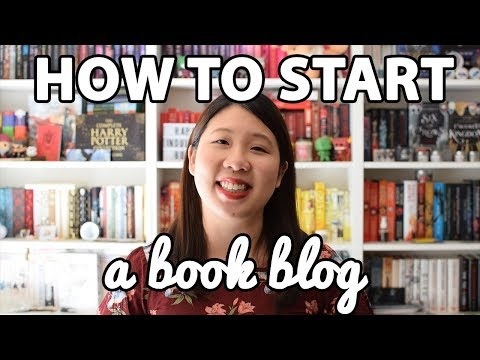 How to Start a Book Blog Tips & Advice