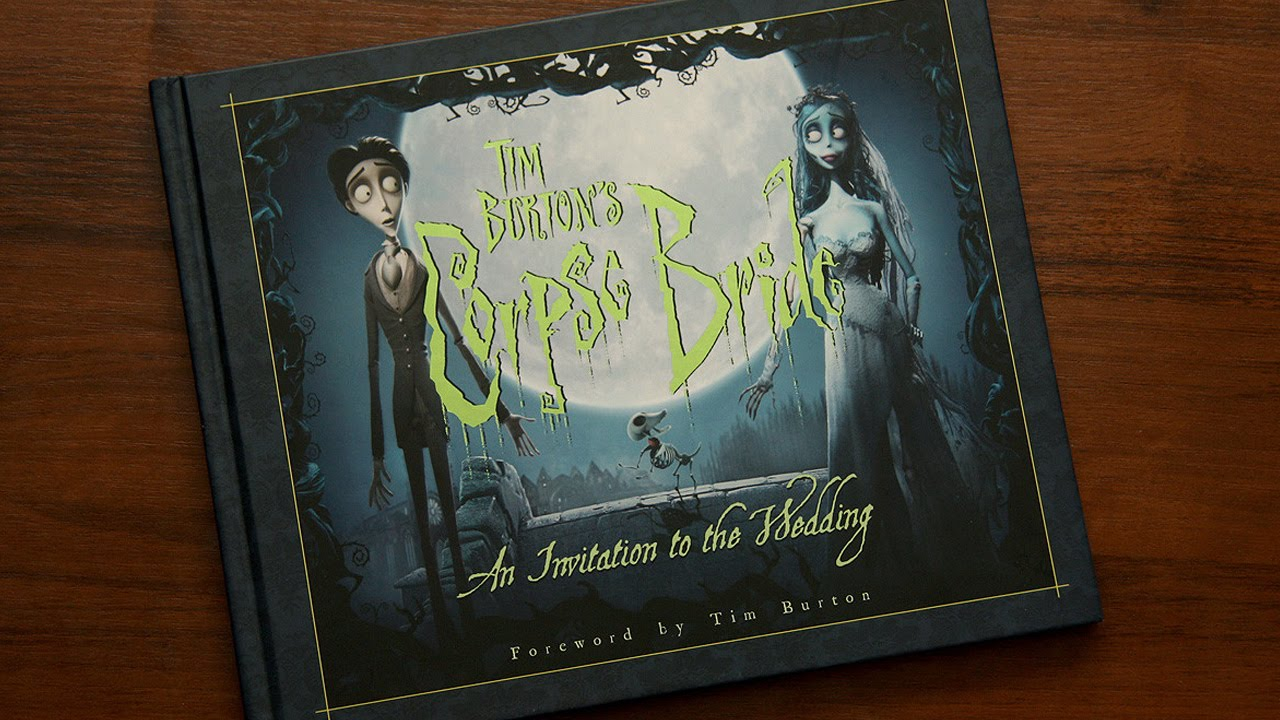 Artbook Review Tim Burtons Corpse Bride An Invitation to the Wedding  YouTube