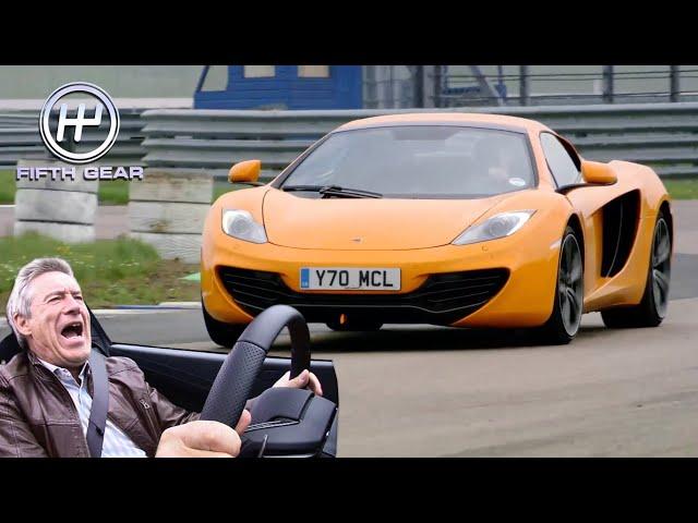Tiff's Legendary McLaren 12C SPIDER Track Test | Fifth Gear