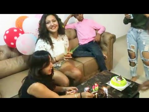 Aashika Bhatia LIVE Celebrates her birthday with friends and family