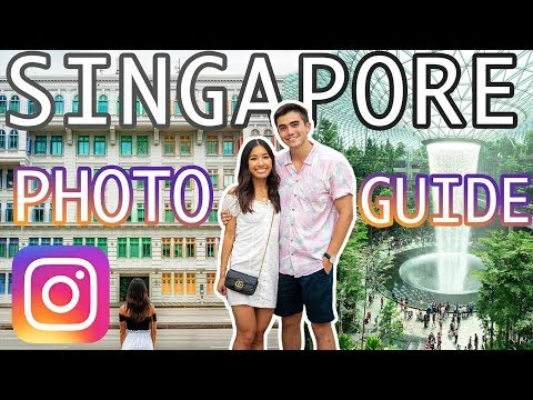 14 BEST INSTAGRAM SPOTS IN SINGAPORE: How to Take Beautiful Photos in Singapore