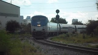 Amtrak Silver Stars 91 & 92 One Train Forward One Train Reverse
