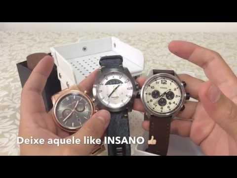 9a68713ac COMPRAS nos EUA Relógios MK FOSSIL DIESEL em Orlando e Miami EUA JUNHO 2015  (PT-BR) HD - YouTube