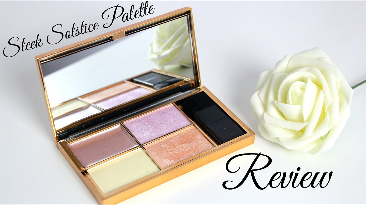 how to use sleek solstice highlighting palette