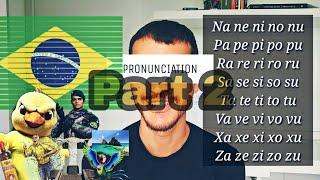 Pronunciation exercise part 2 I Learn Portuguese I Portuguese for Gringos #8