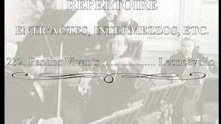 White Star Line Music ✯ REPERTOIRE ENTR'ACTES, INTERMEZZOS, ETC. 23...
