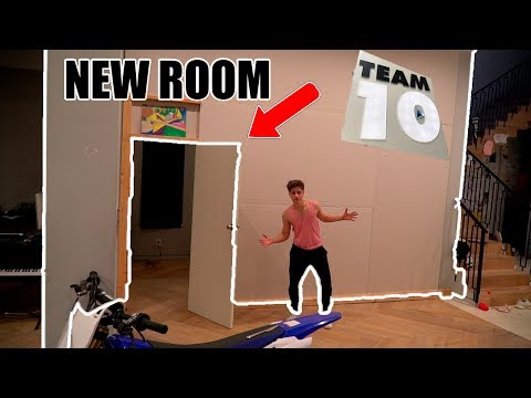 Thumbnail: WE BUILD THIS AT THE TEAM 10 HOUSE (finally)