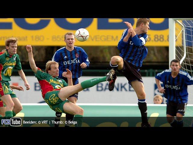 2005-2006 - Jupiler Pro League - 13. Zulte Waregem - Club Brugge 2-1
