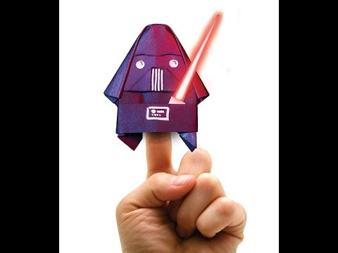 How To Fold Darth Paper Super Easy Qtube