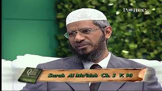 Why Is Consumption Of Alcohol Prohibited In Islam? - Dr Zakir Naik