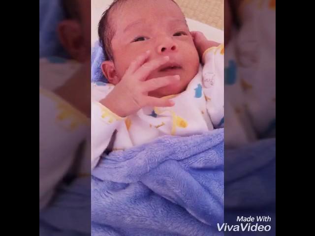 Bayi menggeliat terus menerus