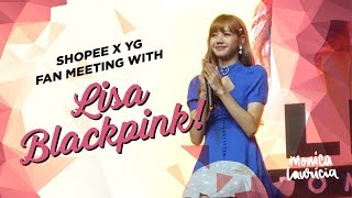 LISA BLACKPINK MEET & GREET IN JAKARTA [VLOG] | Monica Lauricia