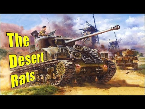 Desert Rats   Steel Division Normandy 44   Gameplay 4v4