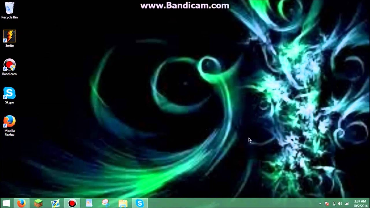 Tutorial - How To Make Your Desktop Background Less Blurry! - YouTube