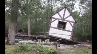 Timber Frame Shed Move