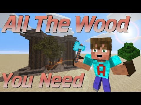 How to Make a Tree Farm in Minecraft | Semi Automatic Minecraft Tree Farm | Easy Redstone Tutorial