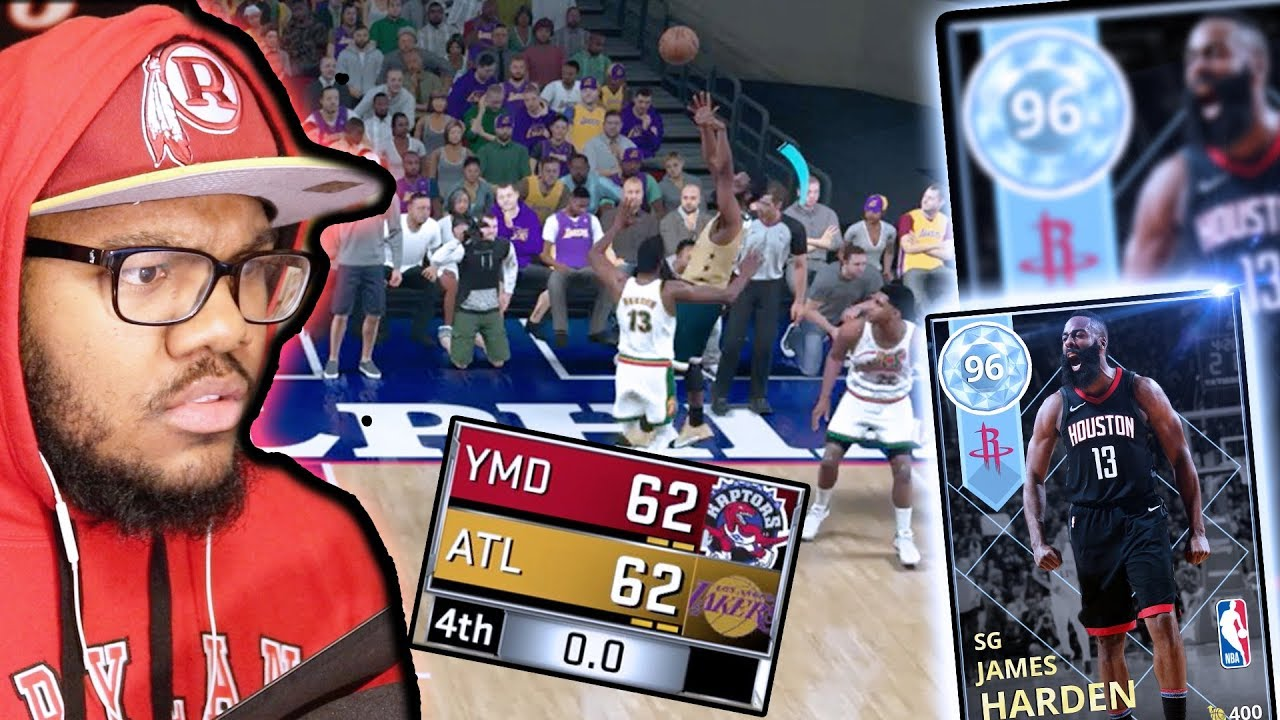 19d609468ab5 WOW!! DIAMOND JAMES HARDEN! GAME ON THE LINE! LAST SHOT! NBA 2K18 MyTEAM Ep. 3
