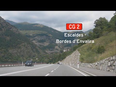 [AND] CG-2 Escaldes - Bordes d'Envalira