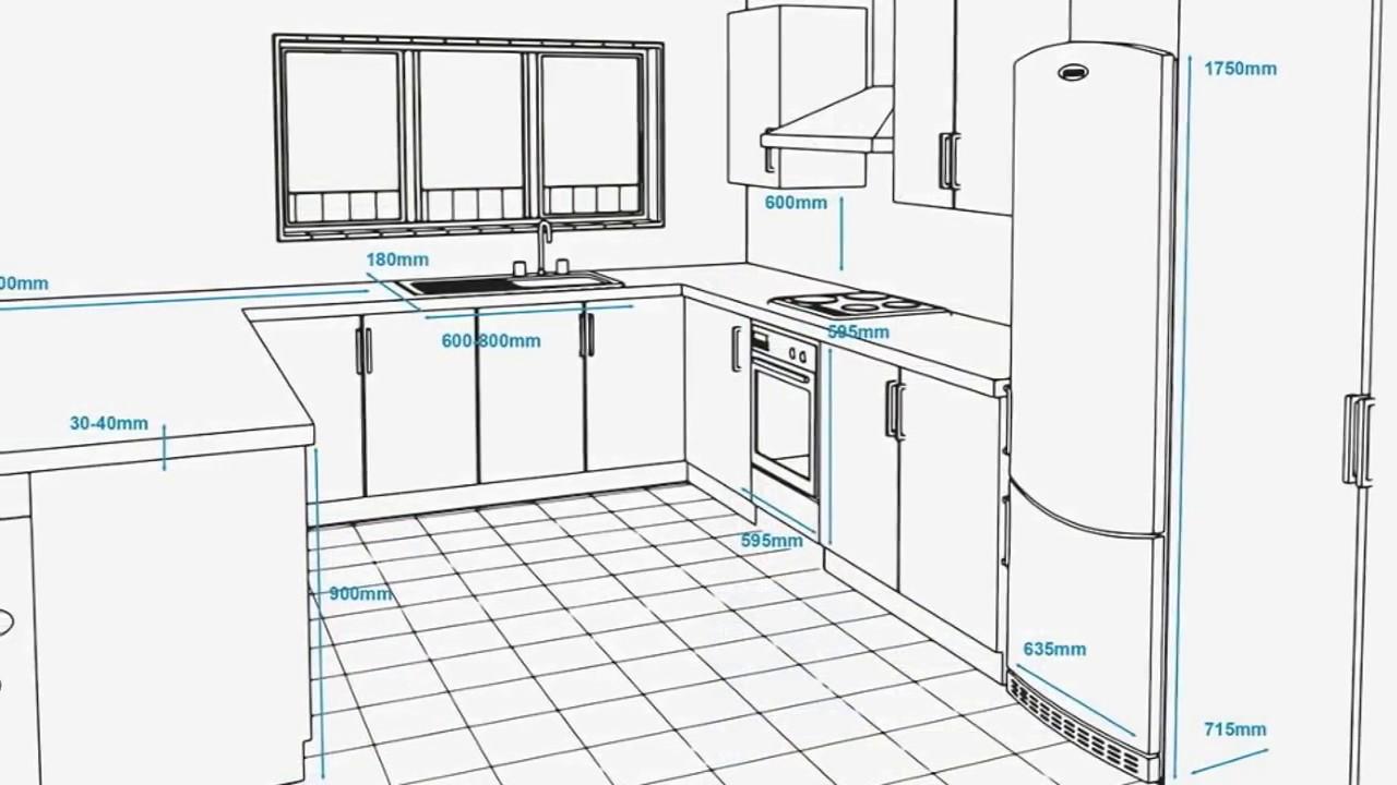 Small Kitchen Floor Plan With Dimensions   Novocom.top