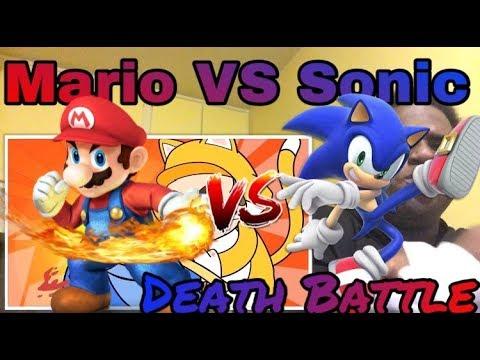 HERE WE GO‼️🔥 | Mario VS Sonic (Nintendo VS Sega) | DEATH BATTLE! | REACTION!!!