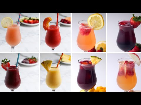 8 Fruity & Frozen Sangrias for Girls' Night