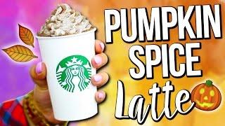 Diy Starbucks Fall Drink ♥ Pumpkin Spice Latte - Easy!