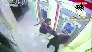 ATM Robbery Goes Wrong For The Robber | Active Self Protection