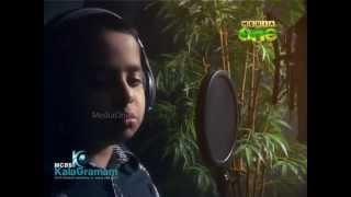 mcbs kalagramam media one thulli programme title song by dheeraj