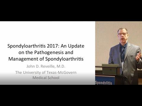 Medical Management of Spondyloarthritis Presented by John Reveille, MD