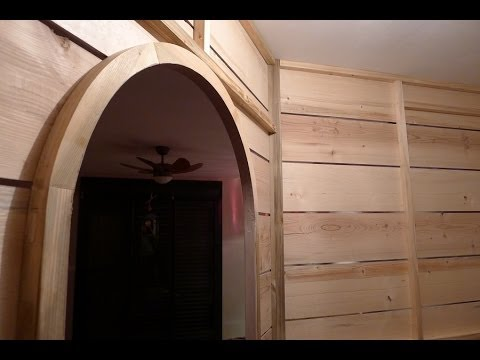 cloison du dressing youtube. Black Bedroom Furniture Sets. Home Design Ideas