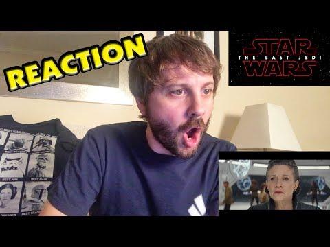 Star Wars: The Last Jedi Trailer REACTION #TLJReaction