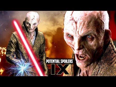 Star Wars! Snoke As Darth Plagueis In Episode 9! Potential Spoilers & More