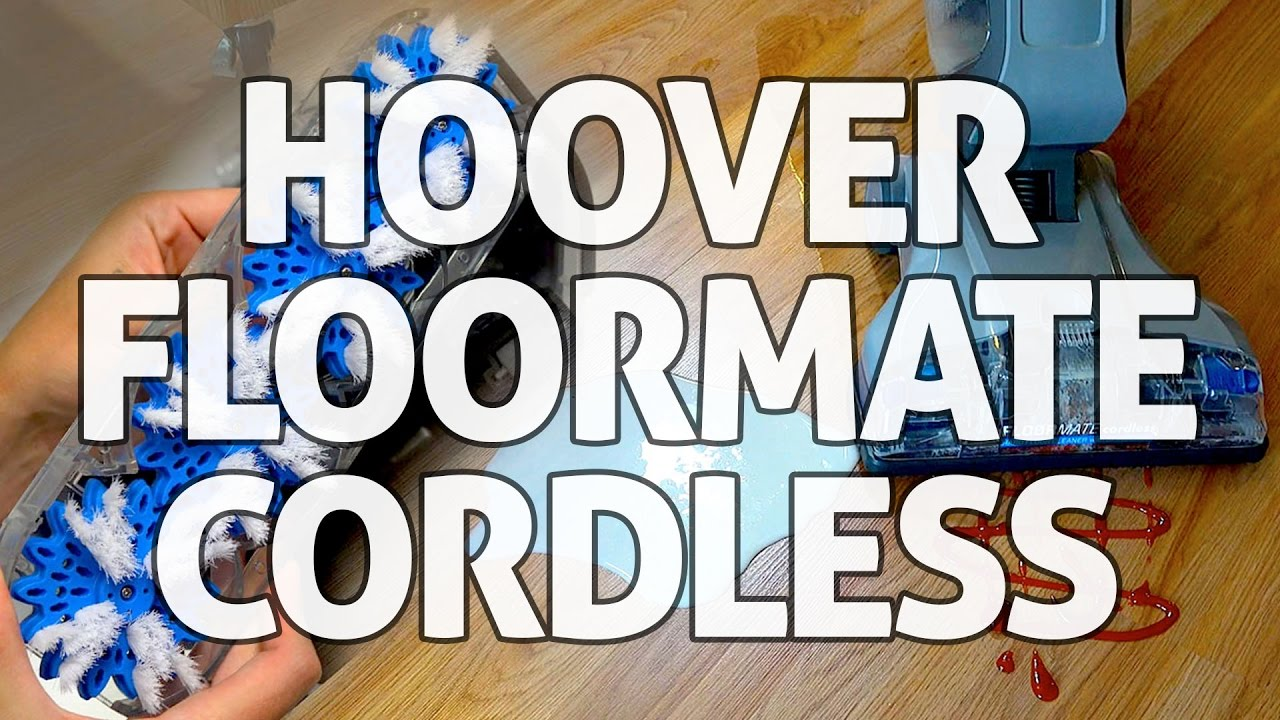 how to use hoover floormate