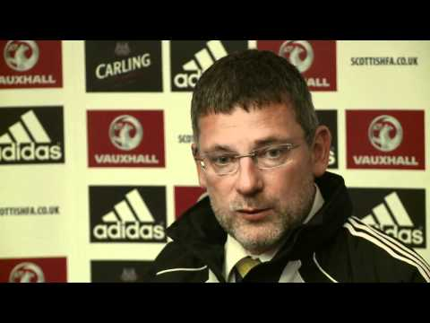 Craig Levein post Lithuania