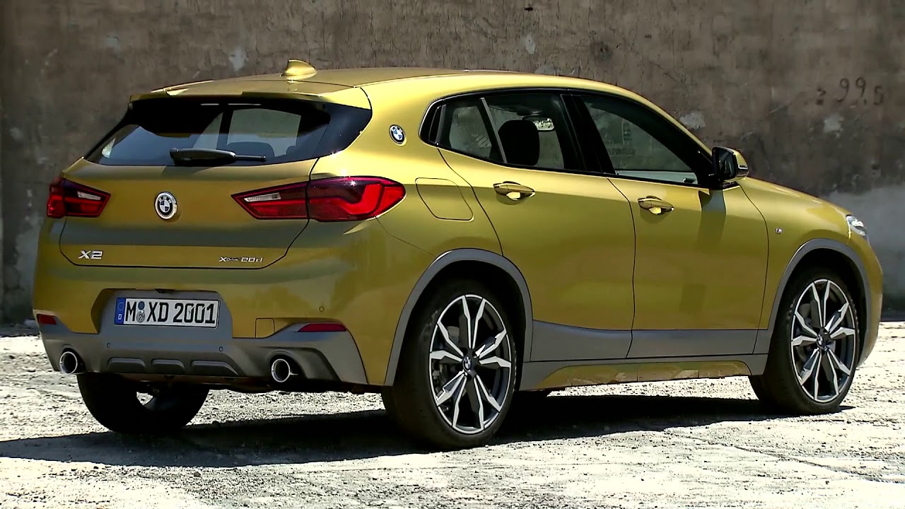 2018 bmw x2 exterior design youtube. Black Bedroom Furniture Sets. Home Design Ideas