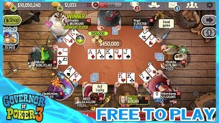 Governor of Poker 3 | Free to Play | Análisis, Review y como descargar
