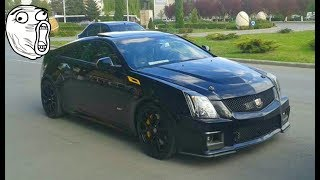 Cadillac CTS Coupe 6.2 Supercharged 800 HP Brutal Sound REVS Hunedoara Tuning 2017 - by Adi Gros