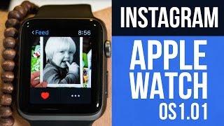Instagram en Apple Watch con @alemm1 #Apps #UX #UI #IOS