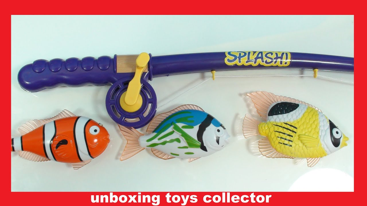 Fishing set fun toys surprise for kids new incredible for Fisher price fishing pole
