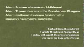 Vak Sukta by Vac Abhrini from Rigved 10th Mandal 125 sukta