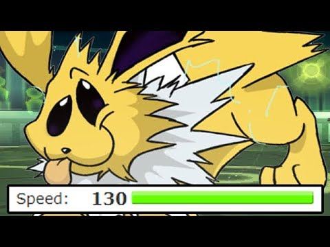 FULL HIGHEST SPEED STAT POKEMON TEAM!