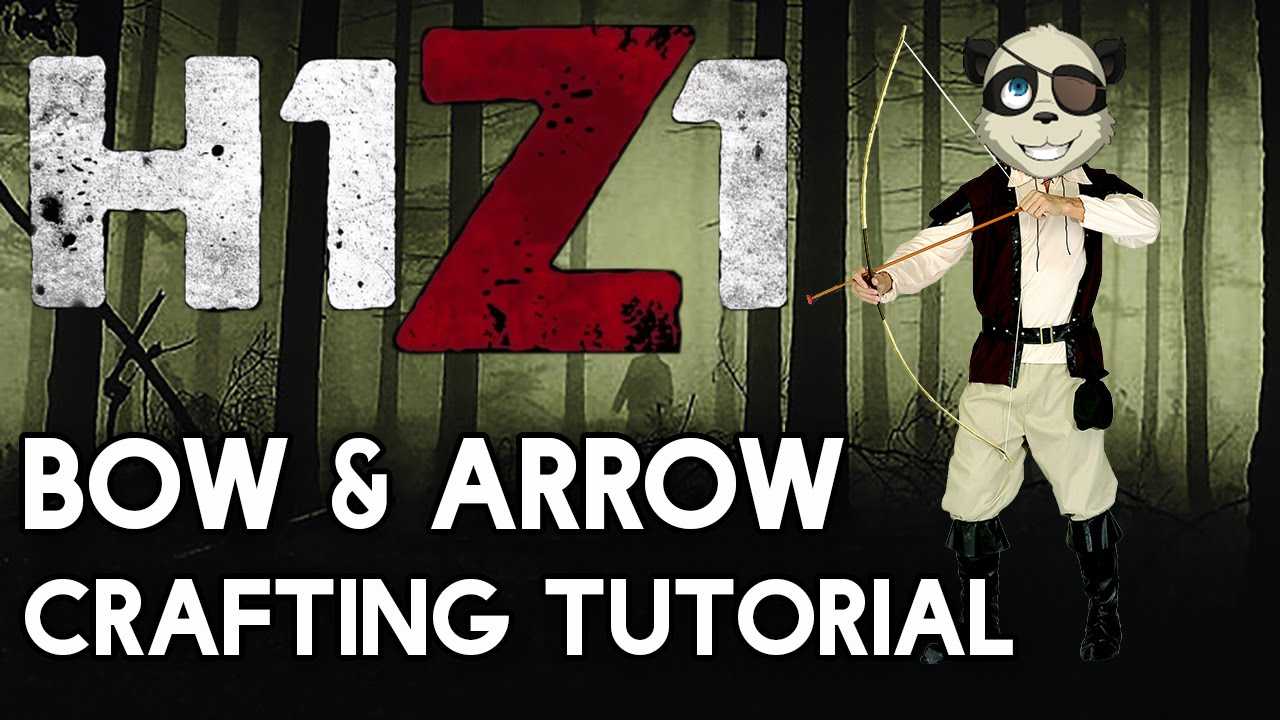 how to make explosive arrows h1z1
