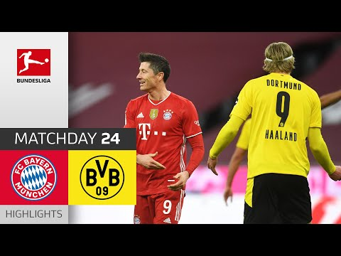 Bayern Munich Borussia Dortmund Goals And Highlights