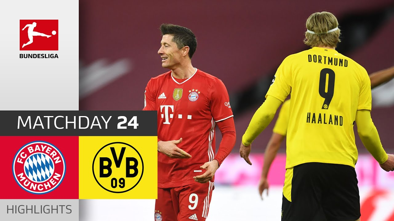 Download FC Bayern München - Borussia Dortmund   4-2   Highlights   Matchday 24 – Bundesliga 2020/21