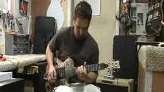Schroeder Custom Guitar Singlecut Semi-hollow 915 (part 2)