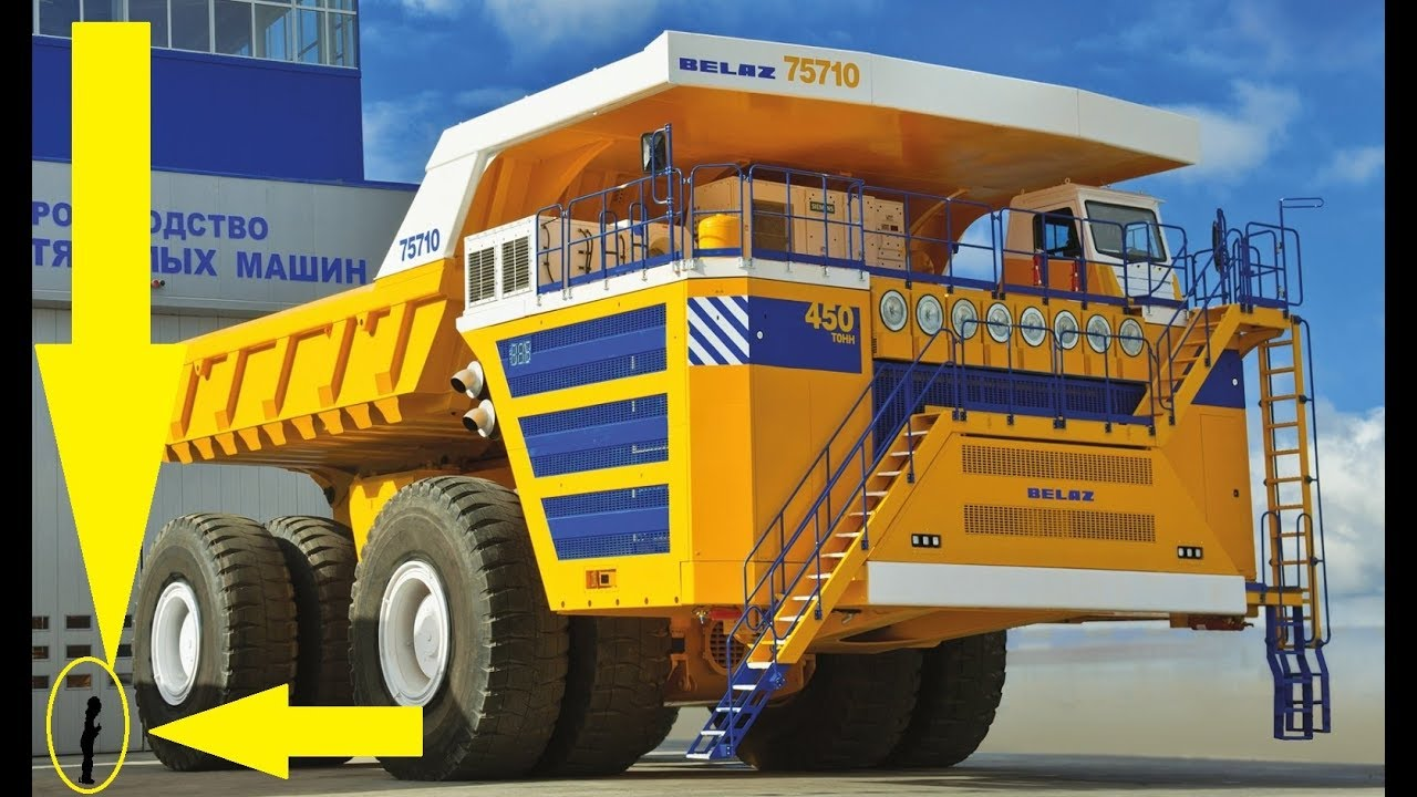 Worlds Largest Dump Truck In The World Excavator Extreme Video