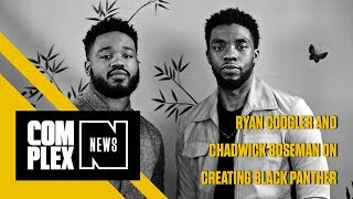 Ryan Coogler and Chadwick Boseman Discuss Crafting Black Panther