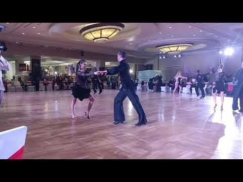 Vegas Open Dance Challenge 2018- Dallys and Mariusz- Int'l Latin Silver (1)