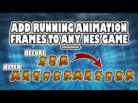 How to Add Walking Frame Animations to NES Games (Intermediate Mesen Pack Creation Tutorial)